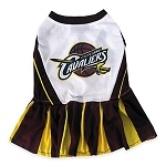 Cleveland Cavaliers Cheerleader Pet Dress