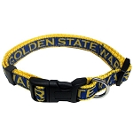 Golden State Warriors Pet Collar by Pets First